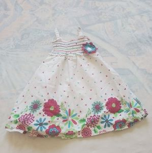 Penny M. 18M Girls White Floral Dress.